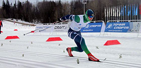 TSPU STUDENTS' VICTORY at national cross country skiing competitions