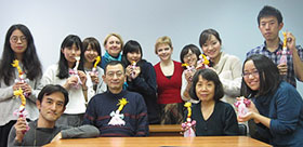 Russian spring school for Japanese students