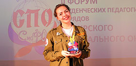 TSPU STUDENT HAS WON THE SIBERIAN COMPETITION OF STUDENTS' SQUADS