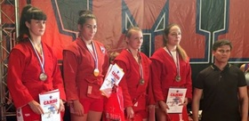 TSPU STDENT WON THE SILVER MEDAL AT THE RUSSIAN SAMBO CHAMPIONSHIP