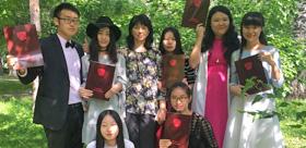 Благодарственное письмо от китайских магистров