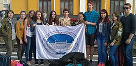 Активисты отряда «Клевер» отправились на трудовой семестр в Крым
