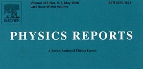 Статья профессора ТГПУ опубликована в журнале Physics Reports