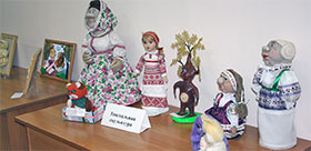 Exhibition-contest «Siberian folk crafts» in TSPU