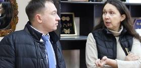 THE DEPUTY OF THE STATE DUMA BYKOV AT TSPU