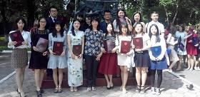 Postgraduates students from China