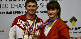 TSPU student is a master of sports of international category in sambo