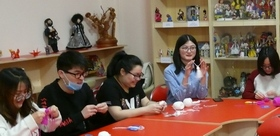 postgraduate students from China get to know RUSSIAN CULTURE