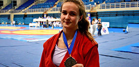TSPU STUDENT TOOK THE SECOND PLACE AT THE EUROPEAN SAMBO CHAMPIONSHIP