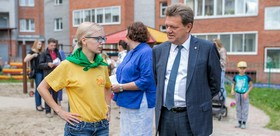 Tomsk mayor has met with the activists of «Summer in the city» project