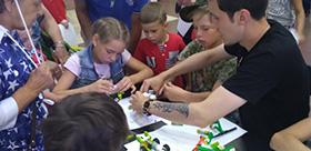 Robotics workshop by TSPU specialists
