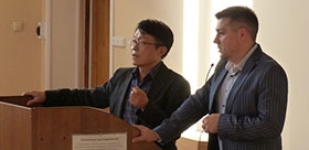 Korean scientist delivered a lecture on Mathematics education.