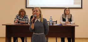 Problems of preschool end elementary education were discussed at TSPU