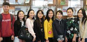 Mongolian guests at TSPU
