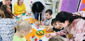 TSPU volunteers organized workshop for children
