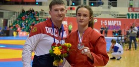 TSPu STUDENT BRINGS SILVER MEDAL FROM RUSSIAN SAMBO CHAMPIONSHIP