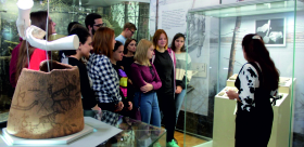 TSPU STUDENTS OF THE FACULTY OF HISTORY AND PHILOLOGY AT THE MUSEUM