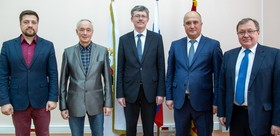 RECTORS OF TSPU AND TAJIK PEDAGOGICAL INSTITUTE DISCUSSED THEIR COOPERATION