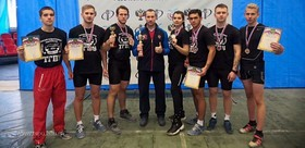 TSPU weighlifters at the All-Russian competitions