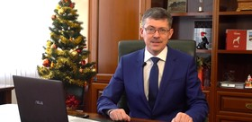 New year greetings from the rector of the TSPU Andrey Nikolaevich Makarenko