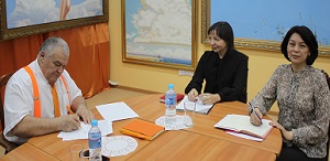 THE TSPU AND THE SVETLENSKY LYCEUM WILL COOPERATE IN THE FIELD OF DEVELOPING THE CONCEPT OF EMOTIONAL EDUCATION