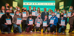 "7 STUDENTS OF THE TSPU BECAME FINALISTS OF THE ""TEACHER OF THE FUTURE. STUDENTS"