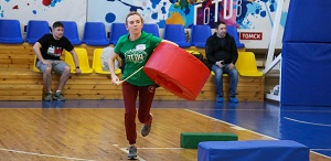 SECOND sports contest OF PEOPLES OF THE TSPU FINISHED WITH THE VICTORY OF THE RUSSIAN TEAM