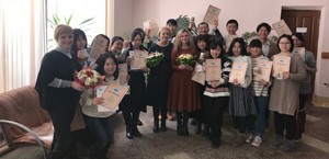 RUSSIAN LANGUAGE COURSE FOR STUDENTS FROM JAPAN AT TSPU