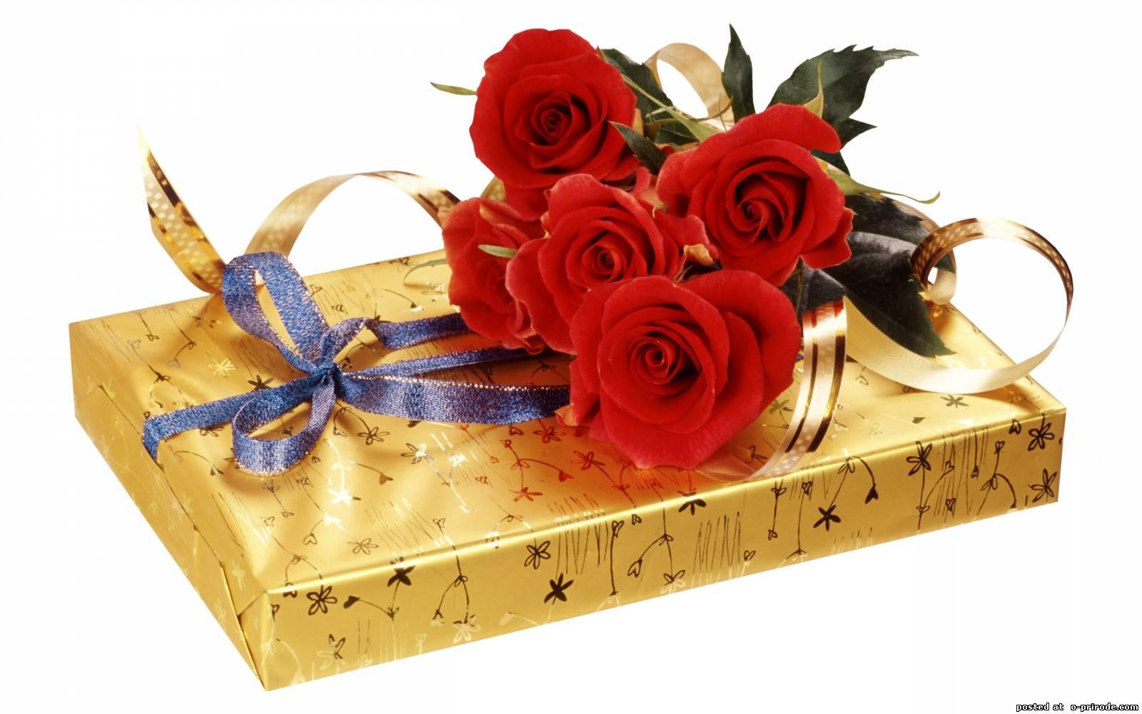 поздравления с коробкой конфет кто