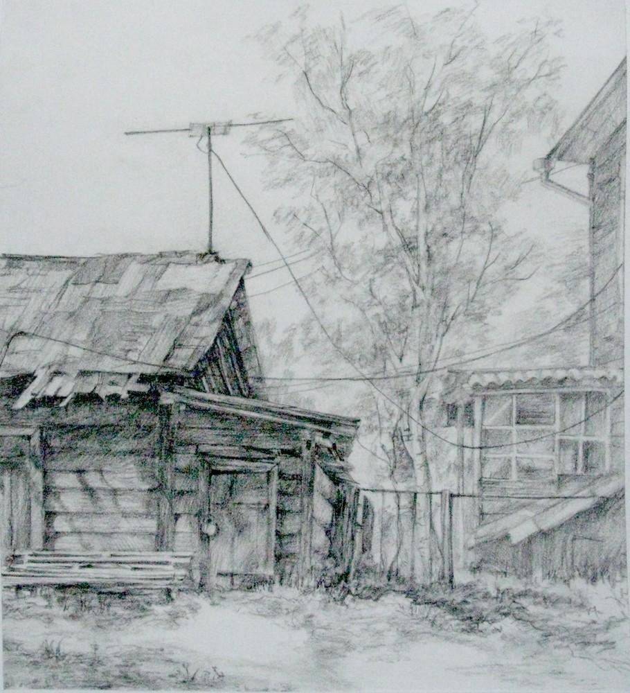 Картинки томска карандашом